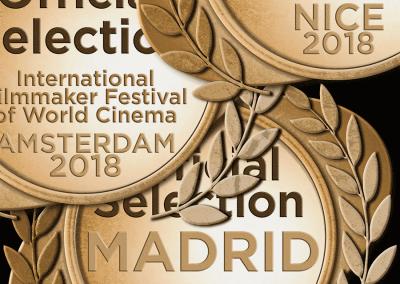 Nominations: International Filmmaker Festivals - Nice, Madrid, Amsterdam