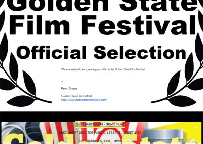 Winner: Golden State Festival - Best Dance Film