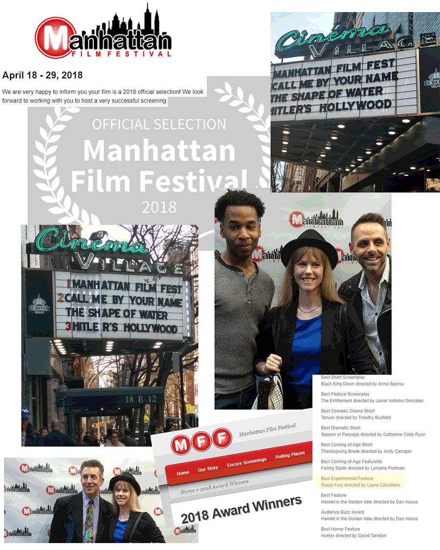 Winner: Manhattan Film Festival - Best Experimental Film
