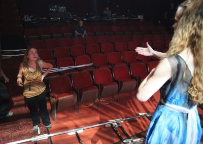 Grace Fury: Directing From Stage - Photo by JReiss